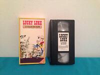 Lucky Luke La ballade des Dalton VHS tape & sleeve FRENCH quebec print