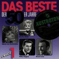Das Beste der 50er Jahre 1 Peter Alexander, Maria von Schmedes, Willy Hag.. [CD]