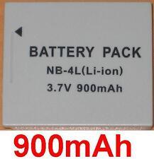 Batterie 900mAh type NB-4L NB-4LH PL46G Pour Canon Digital IXUS 255 HS