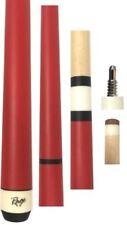NEW Rage RGJBHH Jump / Break Pool Cue Stick - Matte Red - 25 oz. Heavy Hitter