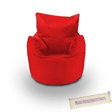 Poires et sièges gonflables rouge pour la maison