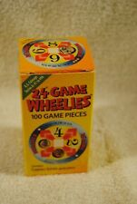 Original 24 Game Wheelies U.S. Currency Edition 100 Game Pieces for Math play