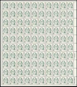 2183, 28¢ Sitting Bull Complete Pane of 100 Stamps CV $120.00 - Stuart Katz