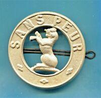 FANTASTIC 5TH BATTALION SEAFORTH HIGHLANDERS CAP INSIGNIA (CA.1916 ONWARDS)