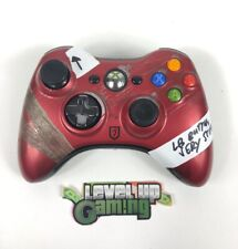 Tomb Raider Limited Edition Red Xbox 360 Controller *READ DESCRIPTION*