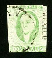 Mexico Stamps # 3B F-VF Used Scott Value $55.00