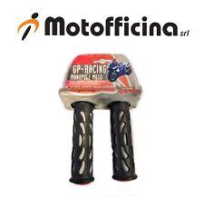 MANOPOLE MOTO GP-RACING NERO/GRIGIO IN GOMMA LAMPA COD. 90300