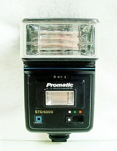 Promatic STD-5000 Flash | for Ricoh, OM, Nikon, Canon, Pentax | Tested | $39 |