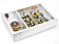 Finished Hifi  preamp MM + MC Phono stage amplifier base on D.Klimo amp circuit