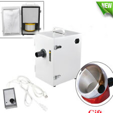 Portable Dental Digital Single-Row Dust Collector Vacuum Cleaner + Suction Base