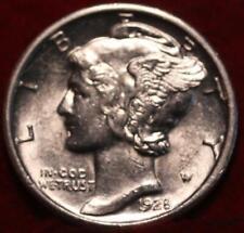 Uncirculated 1928-S San Francisco Mint Silver Mercury Dime