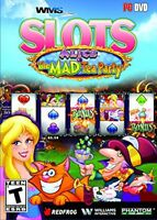 WMS Slots Alice & The Mad Tea Party PC Video Game reel casino windows gambling