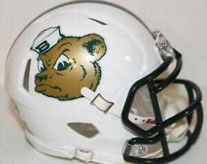 2018 Baylor Bears Sailor Bear Custom Riddell Mini Helmet vs Oklahoma State