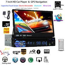 """7"""" AUTORADIO MIT NAVIGATION NAVI GPS BLUETOOTH RÜCKFAHRKAMERA USB SD MP3 1DIN"""
