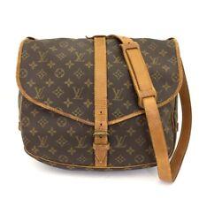 100% Authentic Louis Vuitton Monogram Saumur 35 Cross body Shoulder Bag /40649