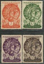 Russia. USSR. Sc. 569-72. SC. 421-4. Persian art set. MLHOG. CV $160 in..