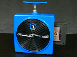 Panasonic RQ-830S Dynamite TNT 8 Track Player Japan 1970's REFURBISHED Video