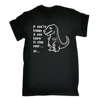 Happy And You Know It Clap T-SHIRT Cute Tee Dino T-Rex Top Gift birthday funny
