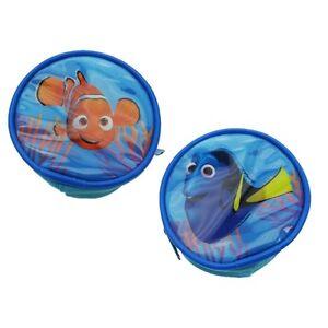 Disney Finding Dory Nemo Blue Tang Fish Money Zipped Blue Coin Purse