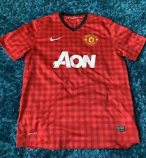 Manchester United Home Shirt 2012-13 Size Large L Nike