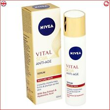 Nivea Vital Soja Anti Age Serum 40 ml For Mature Skin With Soy Extract New
