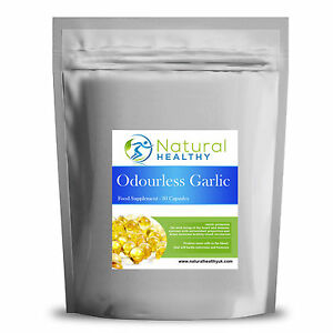 30 Odourless Garlic capsules - Lower Cholesterol and all around good health