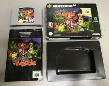 Banjo Kazooie for N64 (Nintendo 64) - PAL - Boxed with Manual