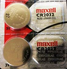 CR 2032 MAXELL LITHIUM BATTERIES (2 piece) 3V watch New Authorized Seller