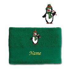 Asciugamani verde con telo da doccia per il bagno
