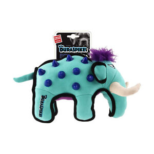 New GiGwi-Extra Durable Duraspikes Mammoth Canvas Toy for Medium-Large Dog