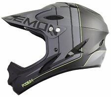 Demon Podium Full Face Mountain Bike Helmet Black Medium