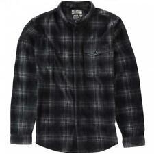 BILLABONG Men's FURNACE Fleece Flannel - BLK - XL - NWT