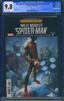 Miles Morales Spider-Man HCF 0 (Marvel) CGC 9.8 WP Ultimate Fallout 4 Reprint