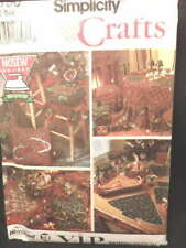 Simplicity Crafts V.I.P. Pattern Christmas Decorating Accessories