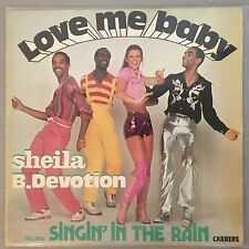SHEILA AND B. DEVOTION - Love Me Baby (Vinyl LP) French Import - Carrere 67-187