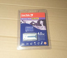 SanDisk 4GB memory stick PRO Duo - new with adapter - for Sony