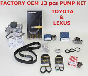 NEW LEXUS ES300 ES330 RX330 TOYOTA CAMRY SIENNA OEM TIMING BELT KIT 3.0 & 3.3 L
