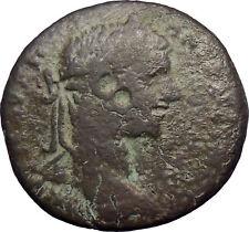 Elagabalus 218AD Nicopolis Large Ancient Roman Coin Artemis Diana w bow  i28551