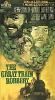 The Great Train Robbery VHS Sean Connery, Donald Sutherland
