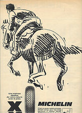 PUBLICITE  1968    MICHELIN  pneus AS DES AS
