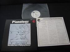 Masahiko Sato & Wolfgang Dauner Pianology Japan Promo White Label Vinyl LP Jazz