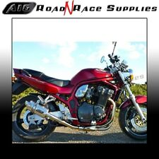 Suzuki BANDIT GSF 1200 1996-2000 A16 Stubby Stainless Exhaust with Link Pipe