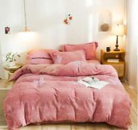 3D Red Dots ZHUA2294 Bed Pillowcases Quilt Duvet Cover Set Queen King Zoe