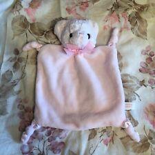 Bearington Pink mini bear baby lovey