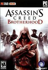 BRAND NEW Sealed Assassin's Creed: Brotherhood (PC, 2011)