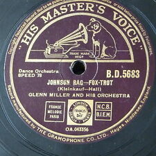 78rpm GLENN MILLER ORCH johnson rag / yes my darling daughter