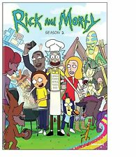 RICK AND MORTY :  SEASON 2 -  DVD - REGION 1 - & Sealed