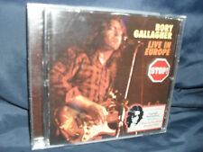 Rory gallagher-Live in Europe