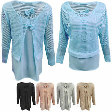 Classic Long Sleeve Blouse Size Petite for Women