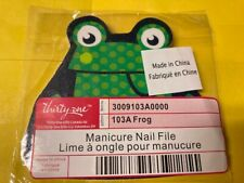 Thirty-One 31 - Manicure Nail File - 103A Frog - Brand New !